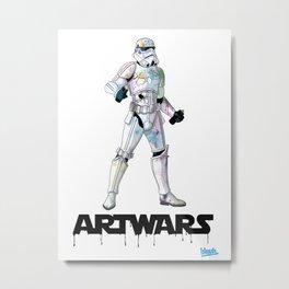 ARTWARS STORM Metal Print