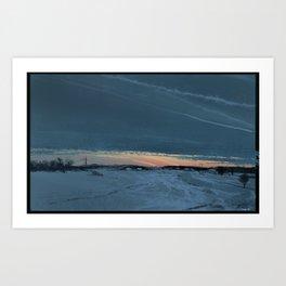 Swedish Winter Art Print