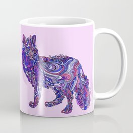 Fox by Night Coffee Mug