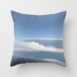 ICE WAVE Throw Pillow
