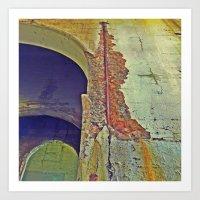concrete Art Prints featuring Concrete by RDKL, Inc.