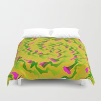 fabric Duvet Covers featuring Fabric R by Vitta