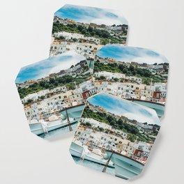 Capri Italy Fine Art Print Coaster