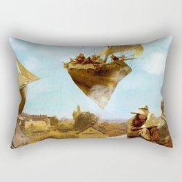 Sky Fishermen Rectangular Pillow