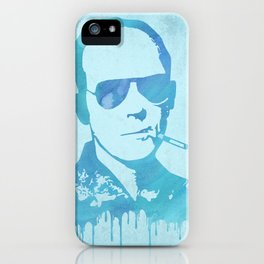 Hunter S. Thompson Abstract iPhone Case