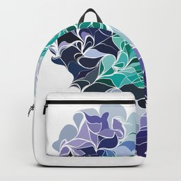 Analogous Blue hue -part three Backpack