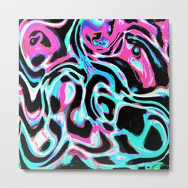 Marbled XXIII Metal Print