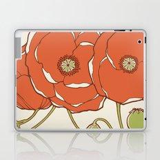 Graphic Poppies Laptop & iPad Skin