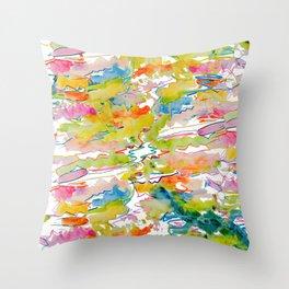 Alexia's Painting Throw Pillow