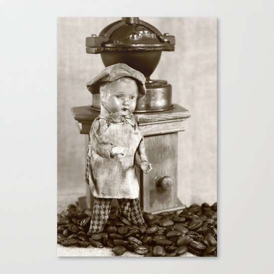 Coffee man 5 Canvas Print