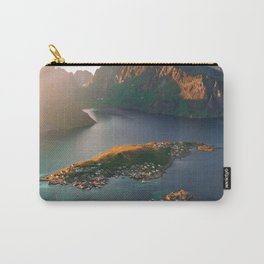 PHOTO - OF - PERSON - STANDING - ON - CLIFF - PHOTOGRAPHY Carry-All Pouch
