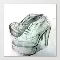 Shoe Fashion Canvas Print