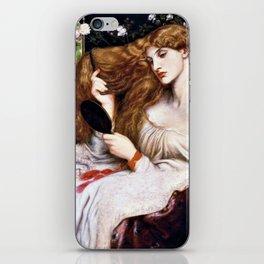 Lady Lilith - Dante Gabriel Rossetti iPhone Skin