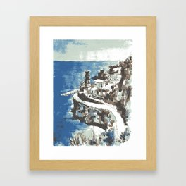 Amalfi Coast Italy Framed Art Print