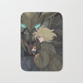 Iron-Blooded Tiger Bath Mat