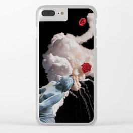 Gather Ye Rosebuds While Ye May Clear iPhone Case