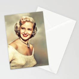 Marilyn Maxwell, Vintage Actress Stationery Cards