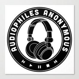 Audiophiles Anonymous Canvas Print