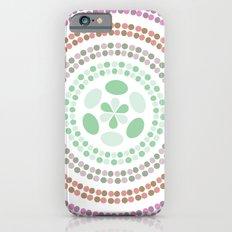Retro floral circle 3 Slim Case iPhone 6s