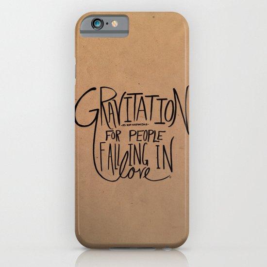 Gravitation iPhone & iPod Case