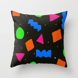 DayGlo Print Throw Pillow