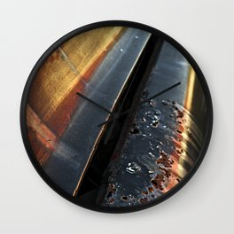 Evening Reflections II Wall Clock