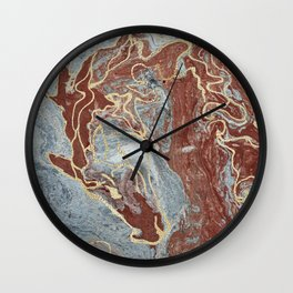 The Scorpio Races - Red as the Sea Wall Clock