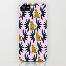Cheetah and Leaves iPhone (5, 5s) Slim Case