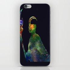 star loki iPhone & iPod Skin