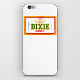 DIXIE BEER OF NEW ORLEANS iPhone Skin