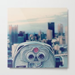 turn to clear vision Metal Print