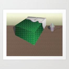 Bed Song Art Print