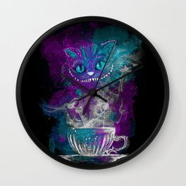 Chesire's tea Wall Clock