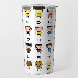 Pixel Star Trek Alphabet Travel Mug