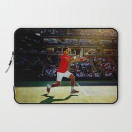 Novak Djokovic Tennis Laptop Sleeve