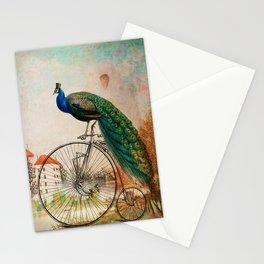 Mr Peacock Sunday Walk Stationery Cards