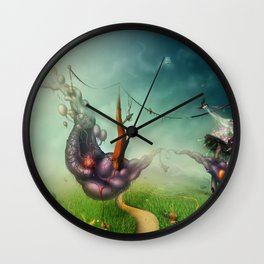 Freedom Fields Wall Clock