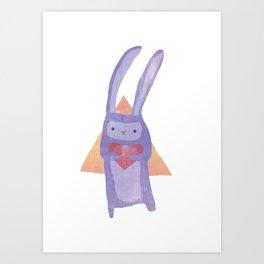 Rabbit Heart - Kid's Room Print Art Print