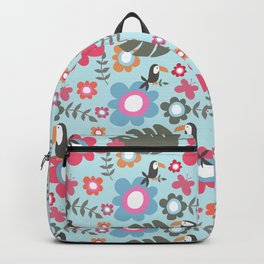 Mr Tuca blue Backpack