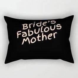 Mother Of The Bride Gift Bridesmaid Bridal Wedding Party Rectangular Pillow