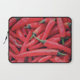 Red Peppers Laptop Sleeve