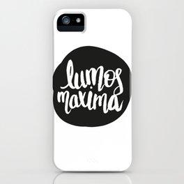 Lumos Maxima iPhone Case