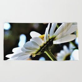 Flower No 4 Beach Towel