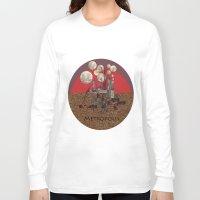 metropolis Long Sleeve T-shirts featuring Metropolis by beataS