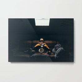 Boston Mornings with Tommy Boy Metal Print