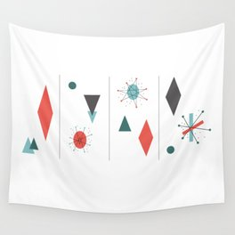 Mid Century Modern Design Wall Tapestry