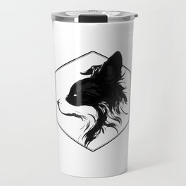 Canine Republic : Border Collie Travel Mug