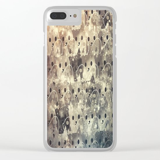 cats-41 Clear iPhone Case
