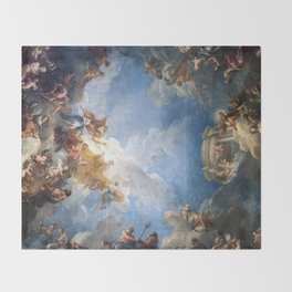 Château de Versailles Hercules Room Ceiling Throw Blanket