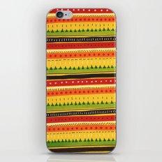 Pattern Doodle (Yellow) iPhone & iPod Skin